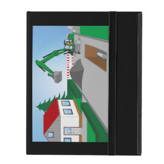 Canal construction place covers for iPad
