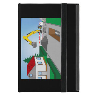 Canal construction place covers for iPad mini