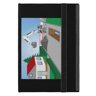 Canal construction place iPad mini cases