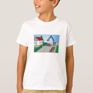 Canal construction place T-Shirt