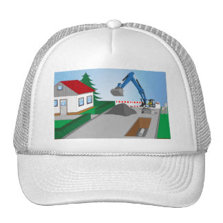 Canal construction place trucker hat