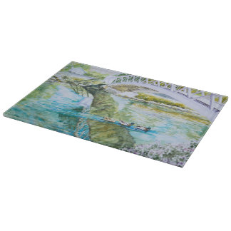 Canal Crossing Cutting Board