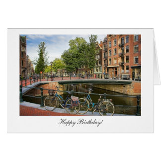Canal Crossing - Happy Birthday Card