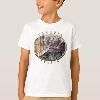 Canal in Santa Croce, Venice, Italy T-Shirt