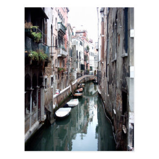 Canal in Venice Postcard