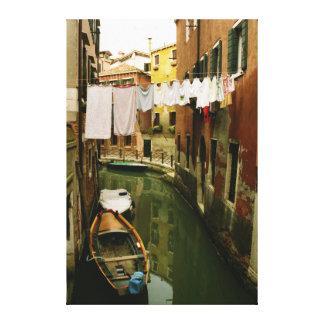 Canal of Venice Laundry Wall Art