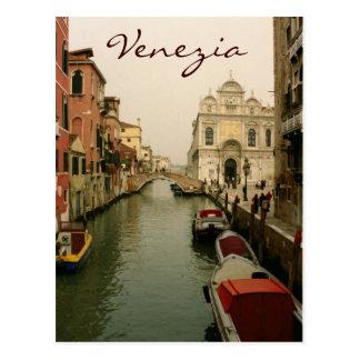 Canal of Venice Postcard