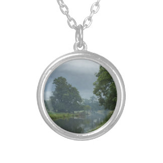 Canal Reflections Silver Plated Necklace