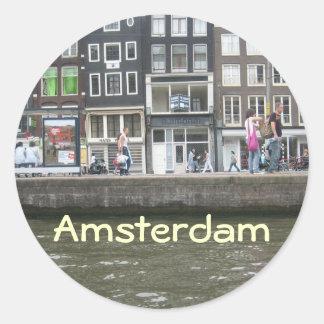Canal Round Sticker