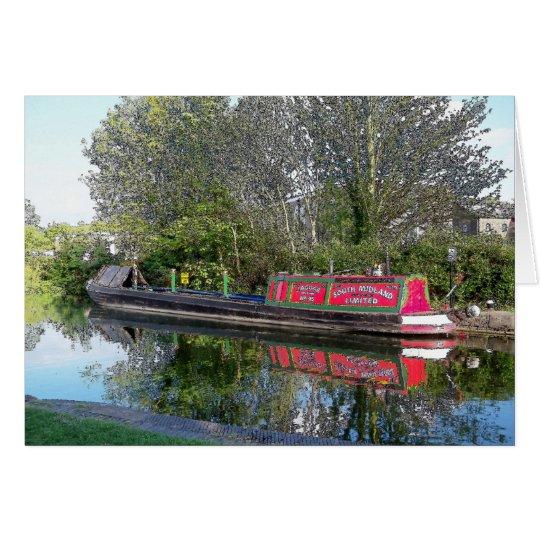 Canal scene card