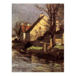 Canal, Schlessheim by T. C. Steele Postcard