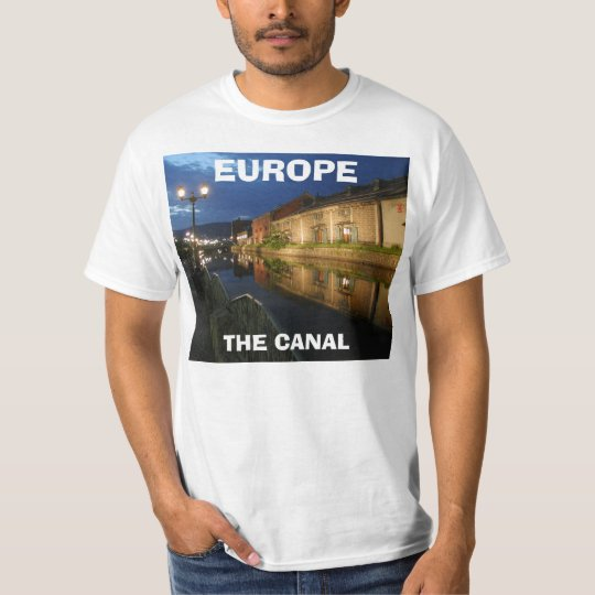 Canal, THE CANAL , EUROPE T-Shirt