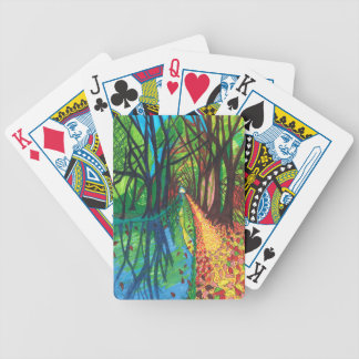 Canal Walk Bicycle Playing Cards