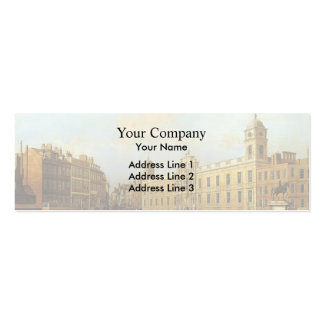 Canaletto- Northumberland House Business Card Templates