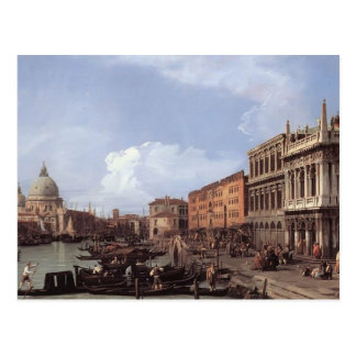 Canaletto- The Molo Looking West Postcard