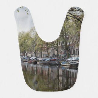 Canals in Amsterdam, Holland Bibs