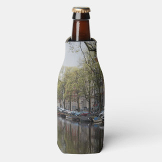 Canals in Amsterdam, Holland Bottle Cooler