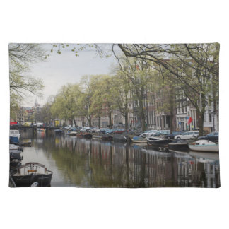 Canals in Amsterdam, Holland Placemat