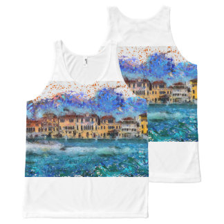 Canals in Venice All-Over-Print Tank Top