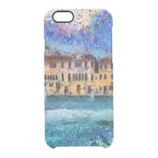 Canals in Venice Clear iPhone 6/6S Case