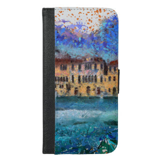 Canals in Venice iPhone 6/6s Plus Wallet Case