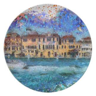 Canals in Venice Plate