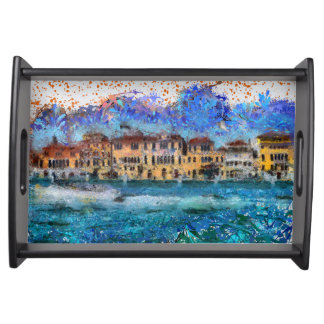 Canals in Venice Serving Tray