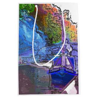 CANALS MEDIUM GIFT BAG
