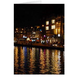 Canals of Amsterdam Card