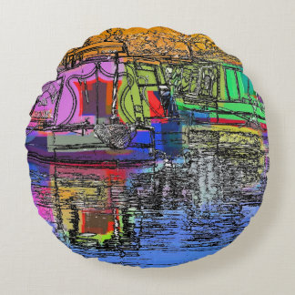 CANALS ROUND PILLOW