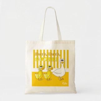 Canard, canard, thème de crèche d'oie sacs