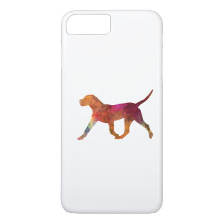 Canary bulldog in watercolor iPhone 8 plus/7 plus case