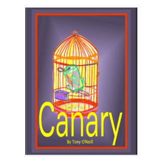 Canary by Tony O'Neill Postcard