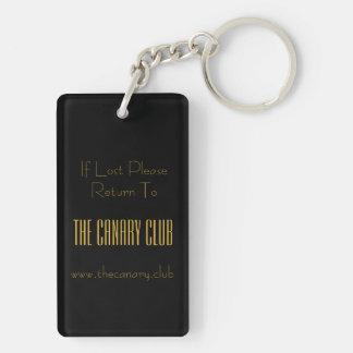 Canary Club keychain