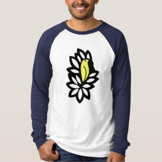 Canary In a Bush T-Shirt Black and Yellow