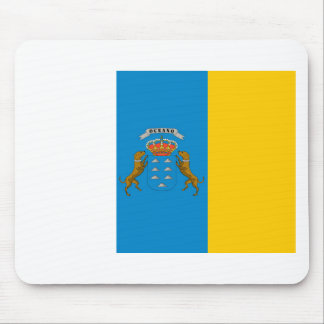 canary island flags mouse pad