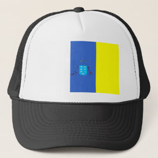 canary-Islands Flag Trucker Hat