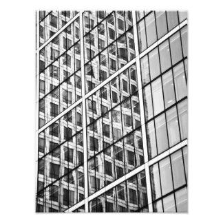 Canary Wharf London Abstract Photo Art