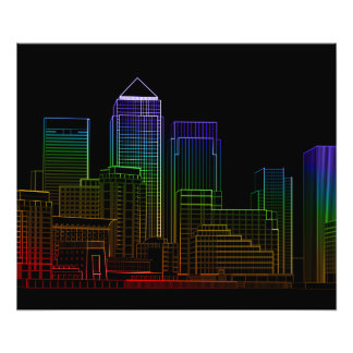 Canary Wharf - London Photo Print
