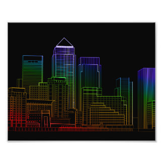 Canary Wharf - London Photographic Print