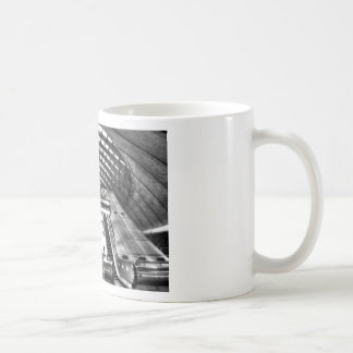 canary wharf tube station coffee mug