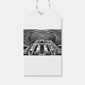 canary wharf tube station pack of gift tags