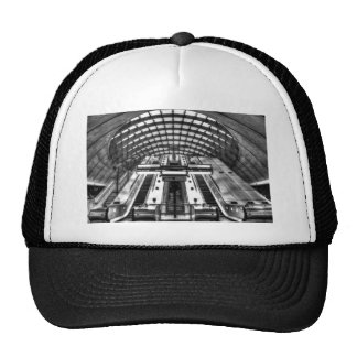 canary wharf tube station trucker hat
