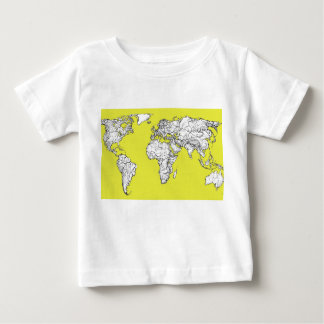 canary yellow atlas diagram t shirts
