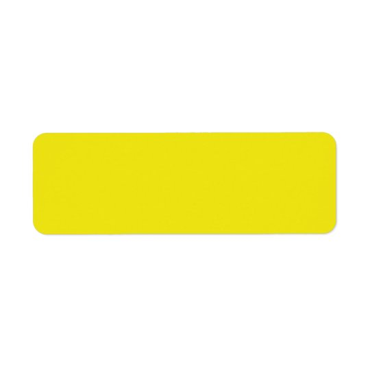 Canary Yellow Bright Fashion Colour Trend 2014