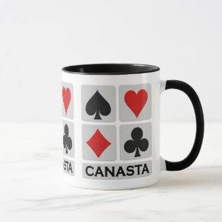 Canasta mug - choose style & color