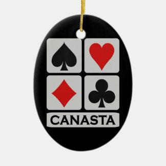 Canasta ornament
