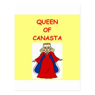canasta postcard
