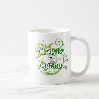 Canasta Queen, Canasta Queen, Fishprint 2010 Coffee Mug