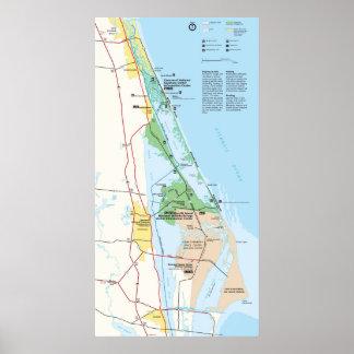 Canaveral National Seashore Poster